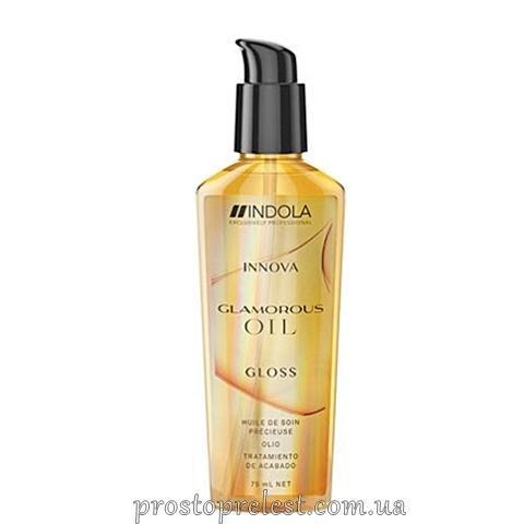 Indola Innova Glamour Oil Finishing Treatment - Масло для блеска волос