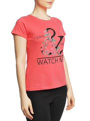 8526-6 футболка женская, красная