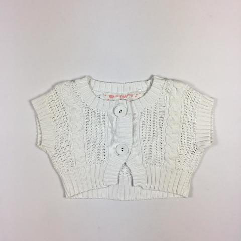 Болеро George с красивым вязаным рисунком на 12/18 месяцев