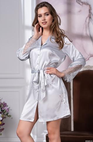 Рубашка халат на пуговицах MIA-Amore  KELLY КЕЛЛИ 3577
