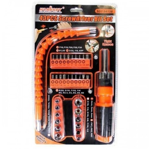 Набор инструментов 43PCS Screwdriver Bit Set