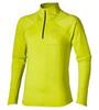 Мужская беговая рубашка Asics Lite-Show LS  Zip (124756 0392) желтая фото