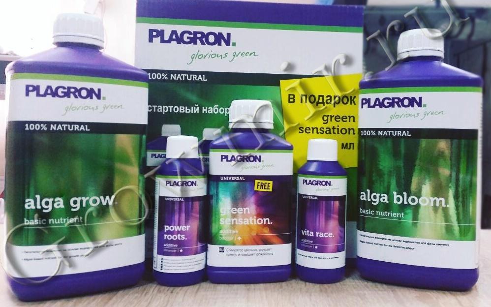 Стартовый набор удобрений Plagron NATURAL Kit
