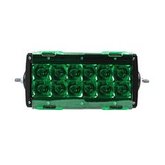 """Светофильтр фары Aurora 6"""" зеленый ALO-AC6DG"""