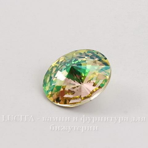 1122 Rivoli Ювелирные стразы Сваровски Crystal Luminous Green (SS47) 10,54-10,9 мм ()