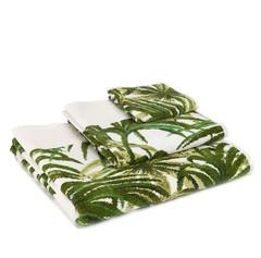 Полотенце 75x150 Feiler Palmeral Green 12 weis