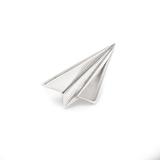 Серебряный значок самолет
