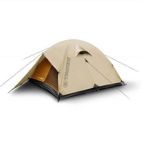 Туристическая палатка Trimm Trekking FRONTIER, 2+1 (песочный)