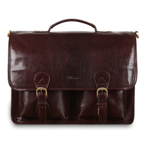 Портфель Ashwood Leather 8190 Cognac