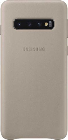 Чехол SAMSUNG Leather Cover для Samsung Galaxy S10 Серый