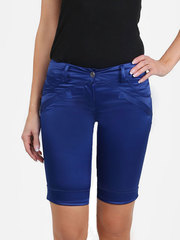 082241-1 шорты женские, синие