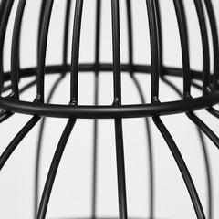 Этажерка Secret De Maison ULMER ( mod. 351) металл/дерево гевея, черный/коричневый