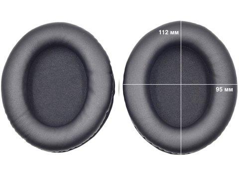 Овальные амбушюры для наушников 112x95 мм