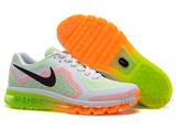 Кроссовки Женские Nike Air Max 2014 White Orange