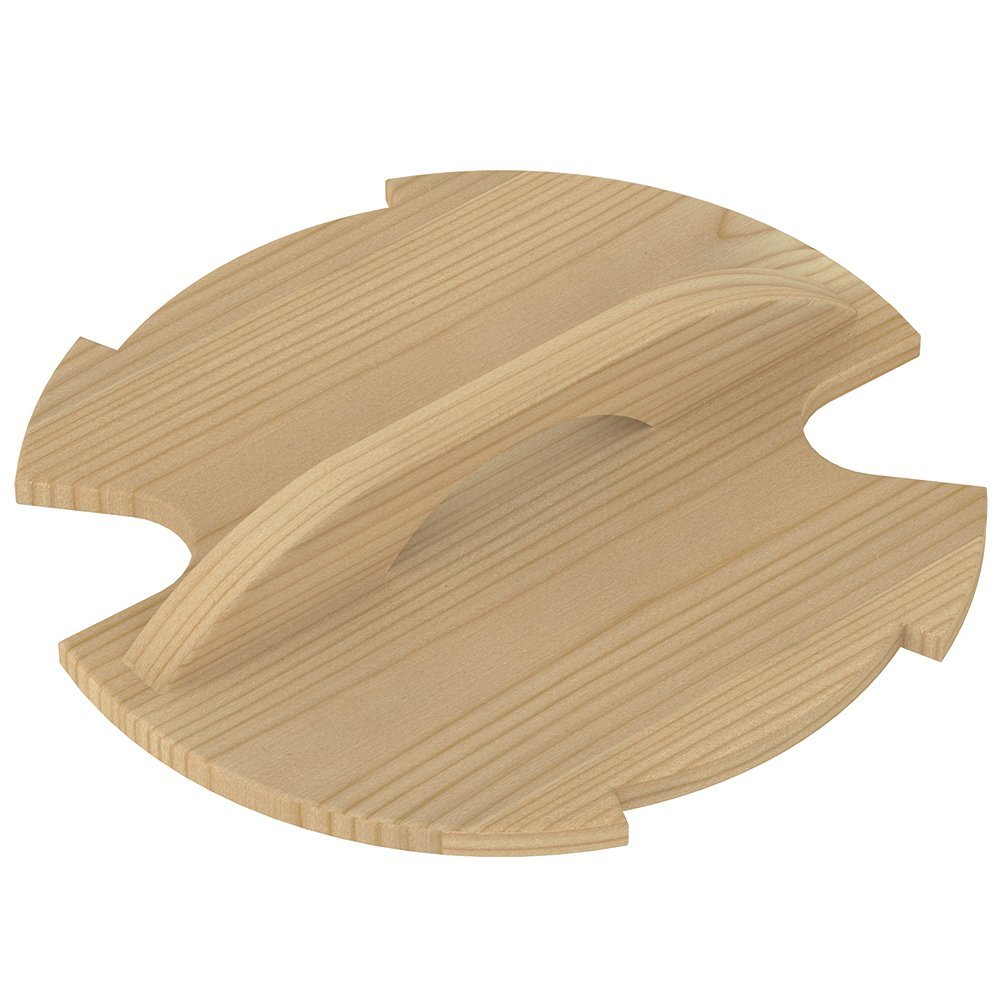 Ведра и кадушки: Крышка деревянная SAWO 381-P-COV для запарника 381-P ведра и кадушки кадушка деревянная sawo 300 tp 9 литров с пластиковой вставкой