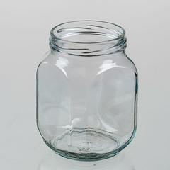 Банка стекло Твист 0,65л 1-82 кубик Глория ЕВРО