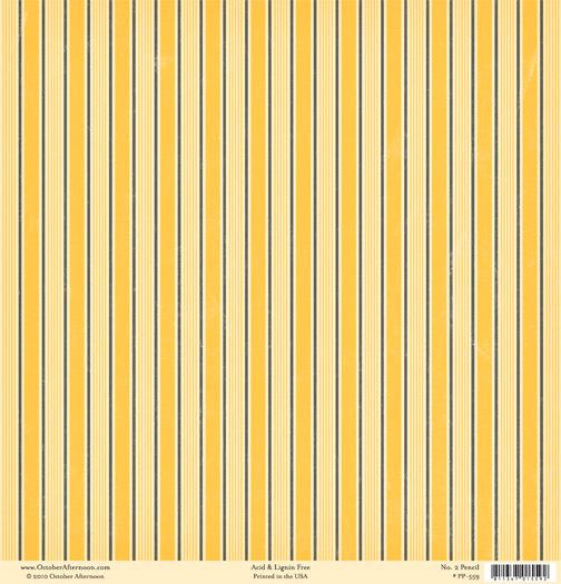 Лист двусторонней бумаги No 2 Pencil из коллекции