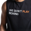 Майка BoxRaw We Don`t Play Boxing Black