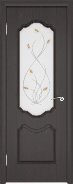 Орхидея До, Венге, Дверь межкомнатная,Ростра