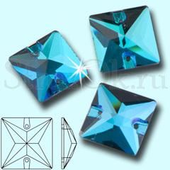 Купите стразы Square Blue Zircon синие в Санкт-Петербурге СпБ оптом