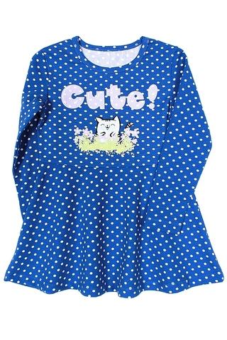 Basia Л1232-4170 Платье для девочки васильковое