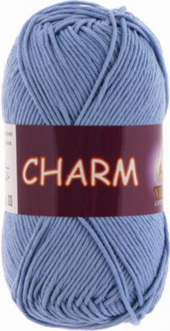 Пряжа Charm (Vita cotton) 4177 Лазурь
