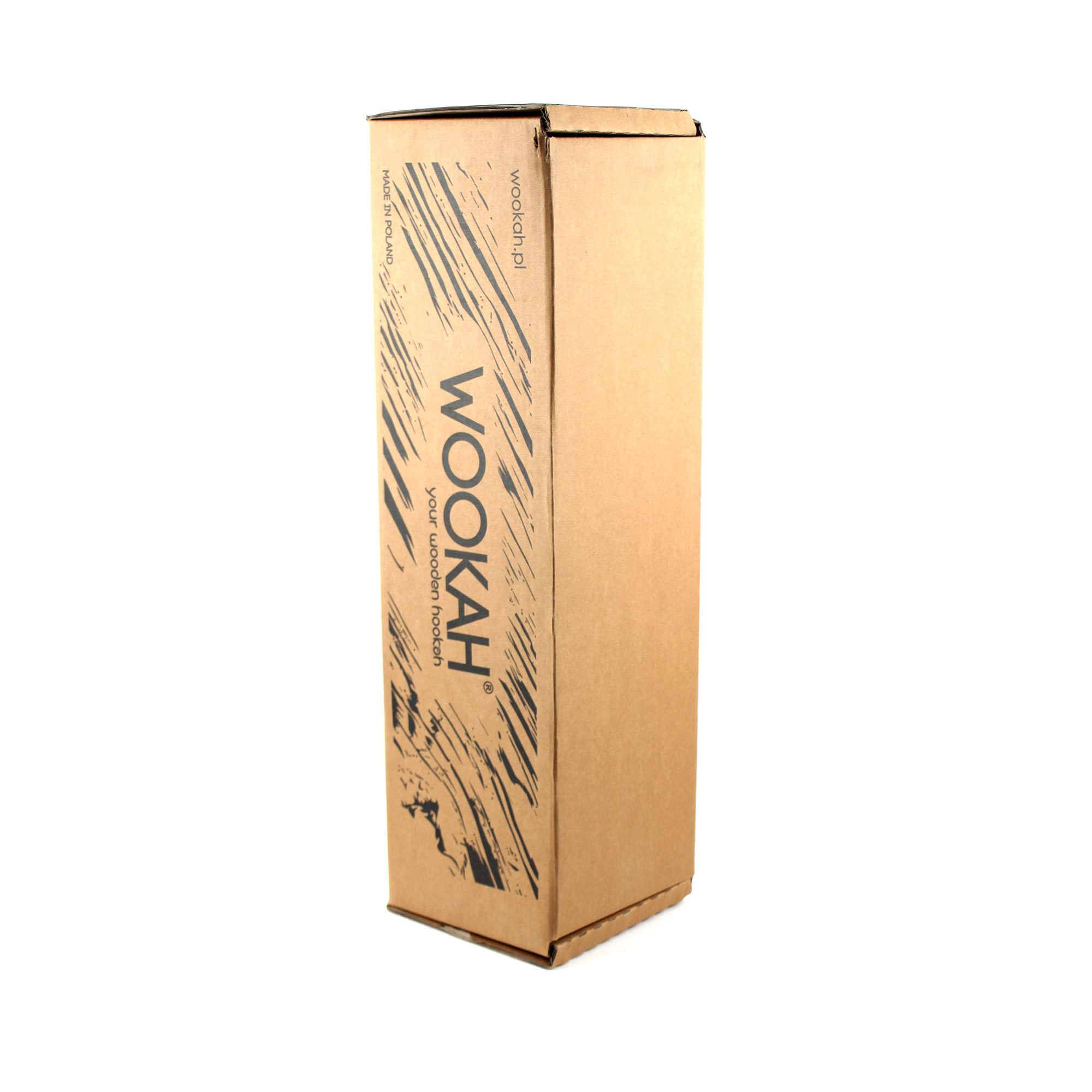 Фирменная коробка кальяна Wookah Red-White с колбой Smooth
