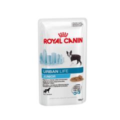 Royal Canin Urban Life Junior влажный корм для щенков проживающих в городских условиях 150 г (соус)