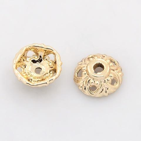 Шапочка 10x4 мм цвет золото