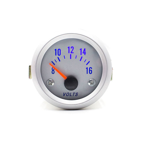 Вольтметр с синей подсветкой циферблата 12В