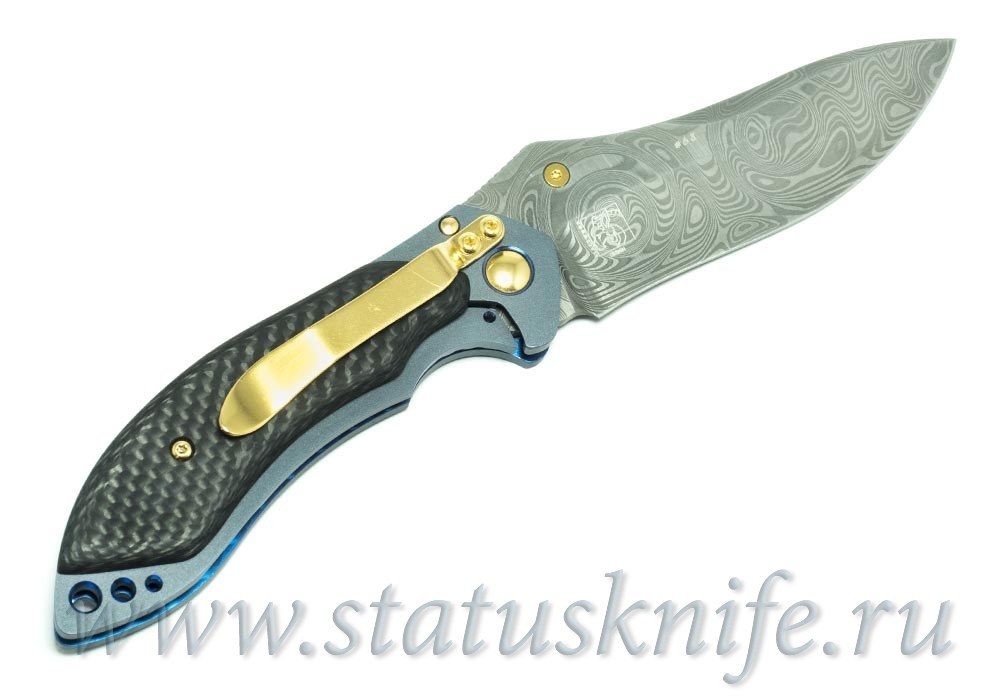 Нож BENCHMADE MINI SKIRMISH 635-81 GOLD CLASS FULL