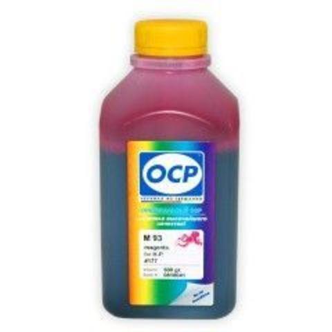 Чернила OCP M 93 Magenta для картриджей HP 177/85/78/57/141/141XL, 500 мл