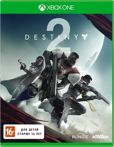 Microsoft Xbox One Destiny 2 (русская версия)