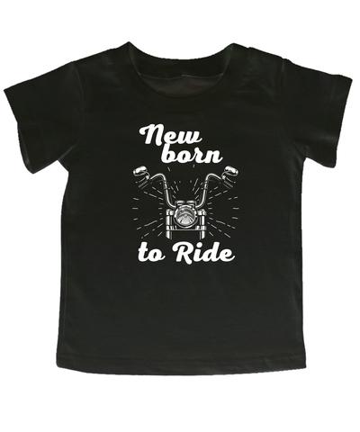 Мотокид, Футболка NewBorn to Ride