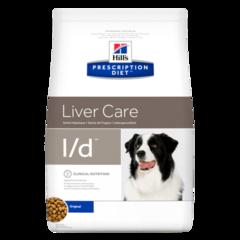 Hill's Prescription Diet l/d Liver Care сухой диетический корм для собак при заболеваниях печени