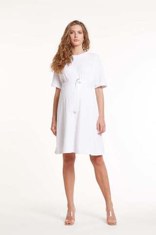 Платье для беременных 11453 белый