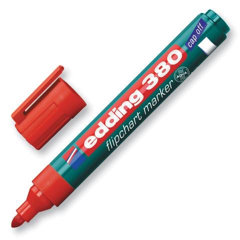 Маркер по бума (для флипчартов) EDDING E-380/2 красный