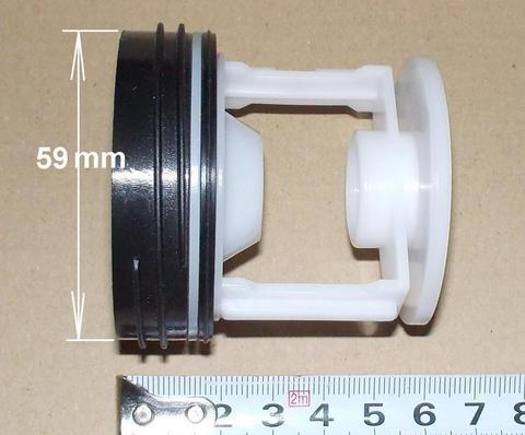 Фильтр сливного насоса (помпы) для стиральной машины Bosch (Бош) D-59/62mm, 182430
