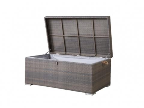 Ящик для хранения вещей плетеный «Тренто» серо-коричневый (4SIS)