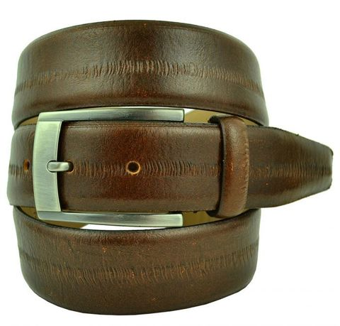 Ремень брючный кожаный 35 мм Roberto Nardi (копия) 35Sale-K-004