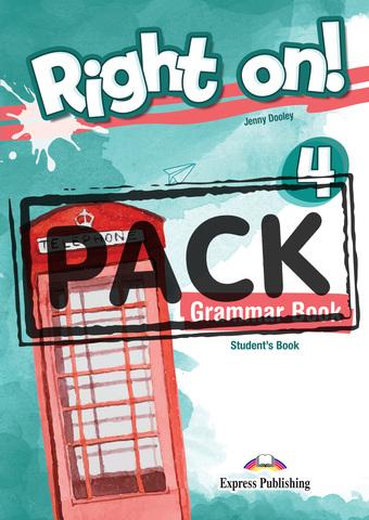 Right On! 4. Grammar Book (with Digibooks App) Сборник грамматических упражнений (с ссылкой на электронное приложение)