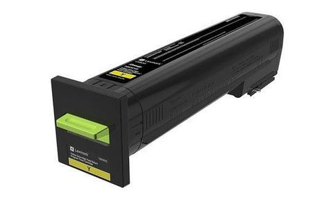 Картридж повышенной емкости для принтеров Lexmark CX860 желтый (yellow). Ресурс 55000 стр (82K5UY0)