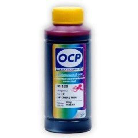 Чернила OCP M120 Magenta для картриджей HP 11/13/12/82, 100 мл