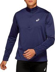 Рубашка Asics Silver LS 1/2 Zip Winter Top Blue мужская