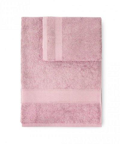 Набор полотенец 2 шт Caleffi Calypso светло-розовый