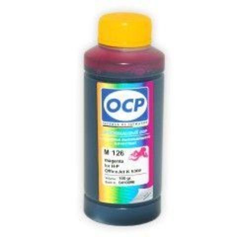 Чернила OCP M126 Magenta для картриджей HP 18, HP 88, 100 мл