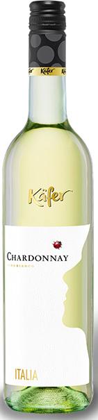 Вино Кэфер Шардоне белое сухое защ.геогр.указ.рег.Сицилия кат.IGP 0,75л.