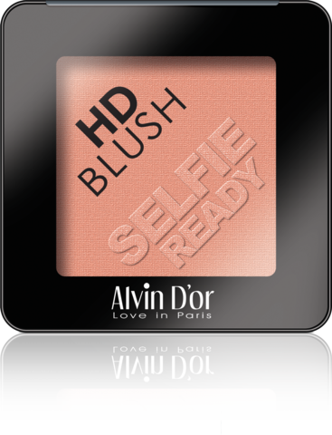 Alvin D`or B-2 Румяна пудровые HD Blush selfie ready 6гр (тон 05)
