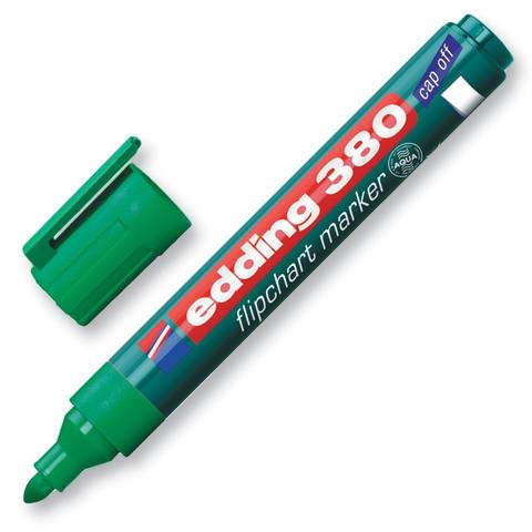 Маркер по бума (для флипчартов) EDDING E-380/4 зелен.