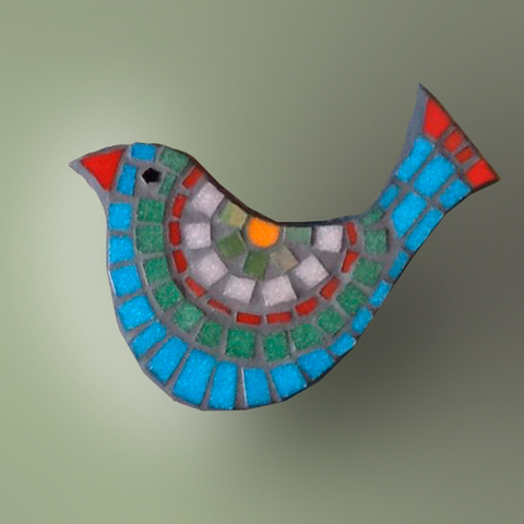 Птичка из пенопласта